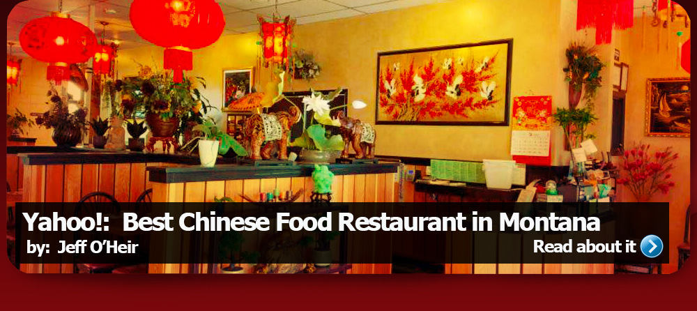 China Garden Restaurant A Missoula Montana Serving Fine Chinese Food Open For Lunch And Dinner
